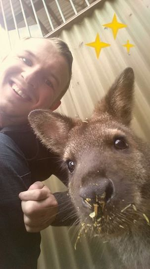 The most Australian Selfie ever !