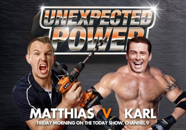 "Video: Karl Stefanovic vs. Matthias ""Hellboy"" Schlitte"