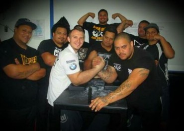 Traing with Team New Zealand