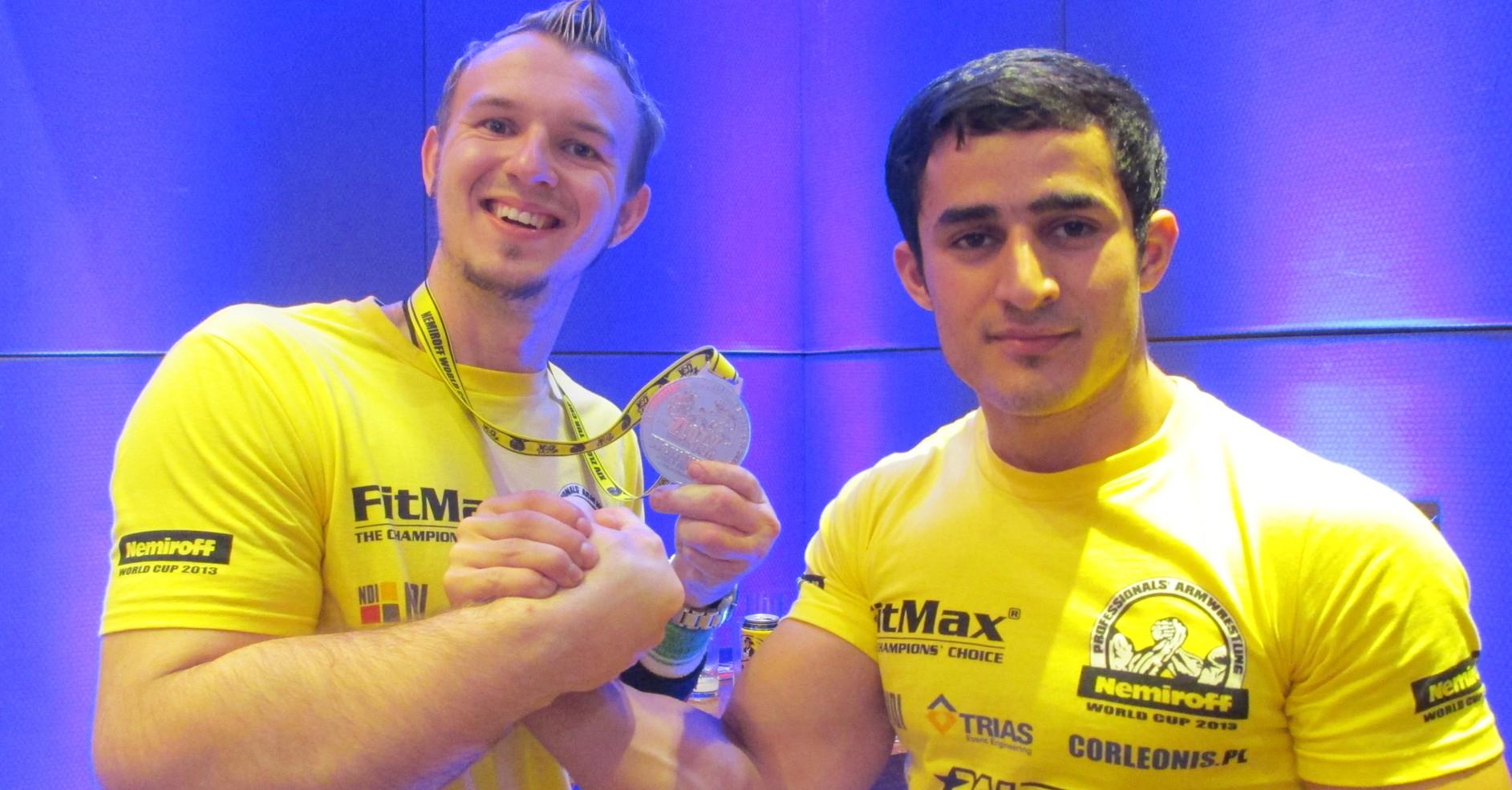 WorldCup 2013 - Schlitte und Weltmeister Farasov