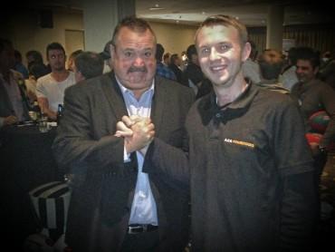 Treffen mit der australischen Rugby – Legende Darryl Brohmann