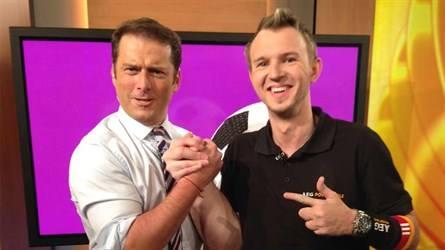 Matthias und Karl Stevanovic (Today Show on Channel 9)