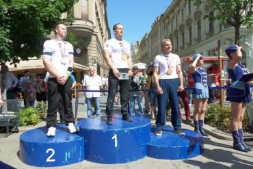 Erst Enttäuschung, dann Triumph- Schlitte holt Silber in Kroatien