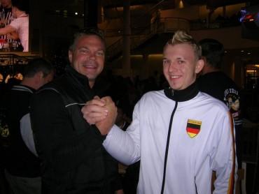 WAF WM 2006 mit John Brzenk