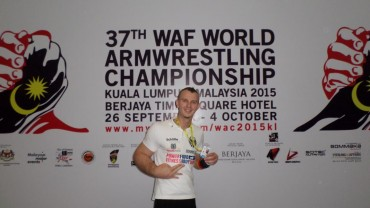 WAF WM 2015: Schlitte wird Vierter