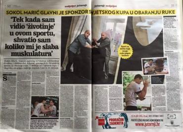 Wer ist denn da in der kroatischen Presse…