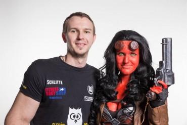 Foto mit dem unglaublichen Hellgirl