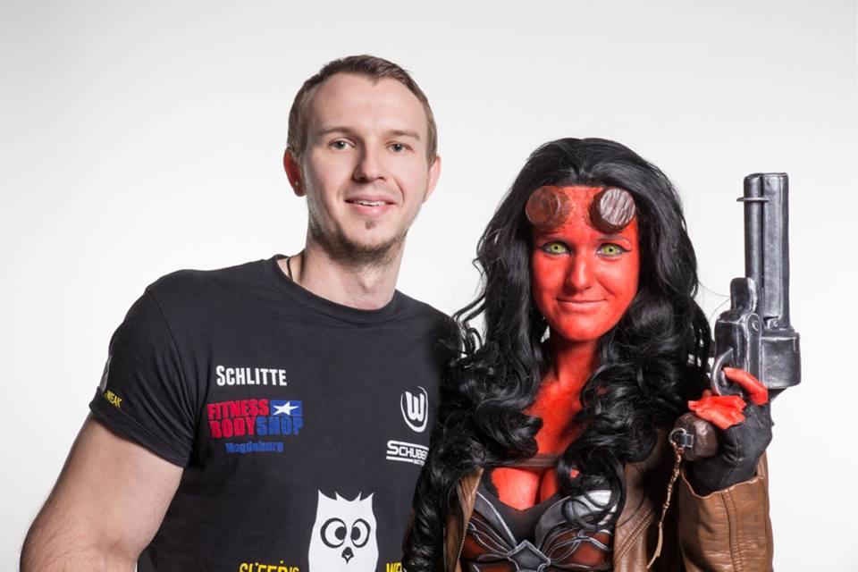 hellboy und Hellgirl
