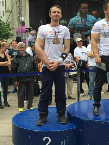 Silber beim Worldcup Sokol Maric