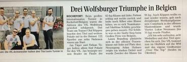 Bericht über das internationale Turnier in Belgien: Drei Titel für den VfL Wolfsburg
