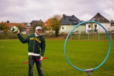 Quidditch Training der Ottos Occamys Magdeburg