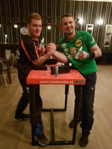 """Schlitte hat den """"stärksten Arm von Drenthe"""""""